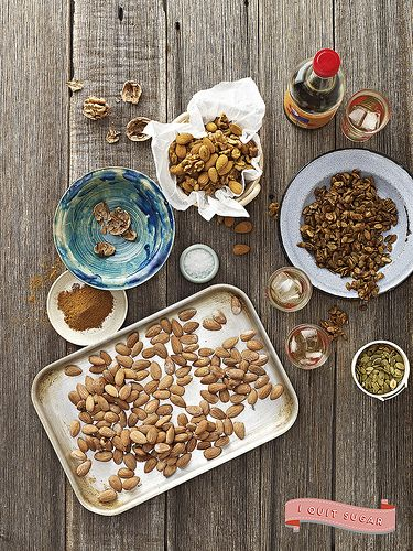 Spouted Spicy Nuts by CrownPublishing, via Flickr