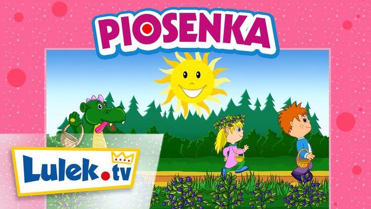 Piosenki dla dzieci. Jesteśmy jagódki. Lulek.tv