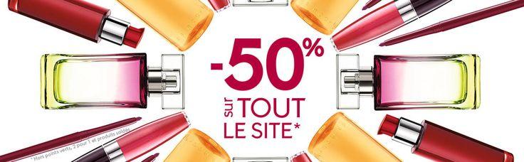 Bonnes Affaires -50% sur TOUT le site, Yves Rocher