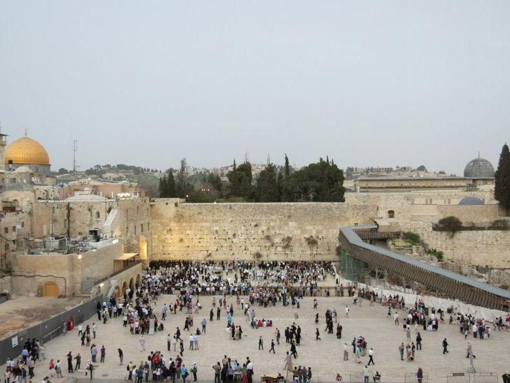 ZIDUL PLANGERII IERUSALIM Wailing Wall at Jerusalem