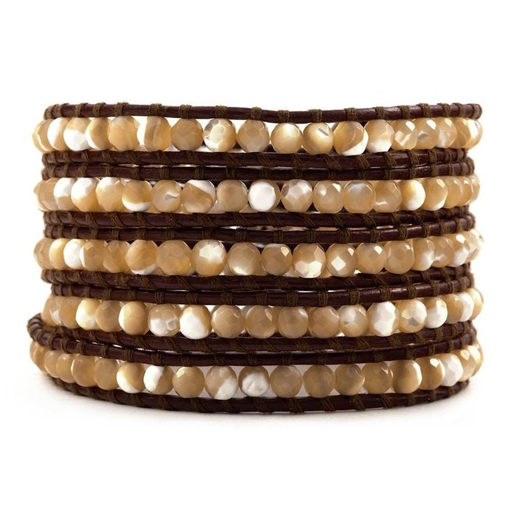 CHAN LUU ~ Mother of Pearl Leather Wrap