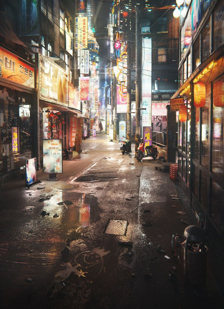 Big City Sensory Overstimulation by Gleb Alexandrov | Realistic | 3D | CGSociety