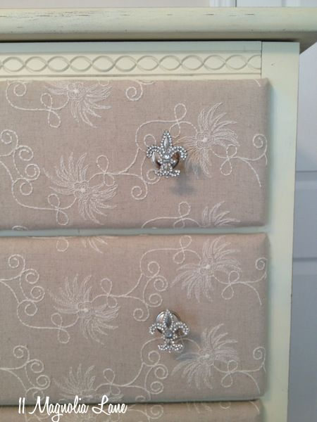 Diy Upcycled Fabric Covered Dresser Faboulous Ideas Pinterest Furniture And