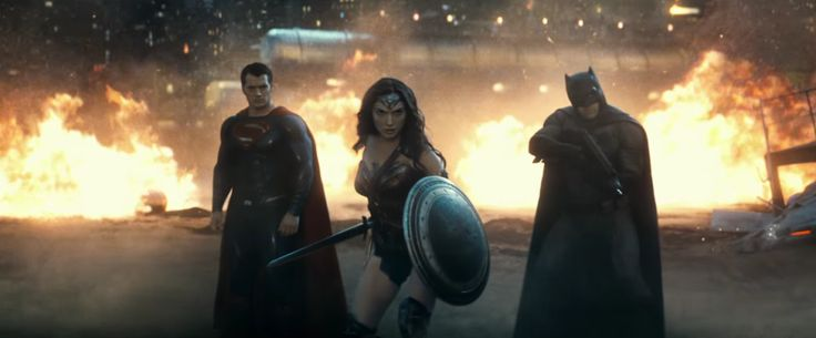 The Trinity Stands Tall in New 'Batman v Superman' Character Posters
