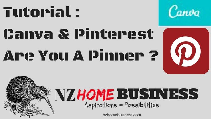 Tutorial : Canva & Pinterest