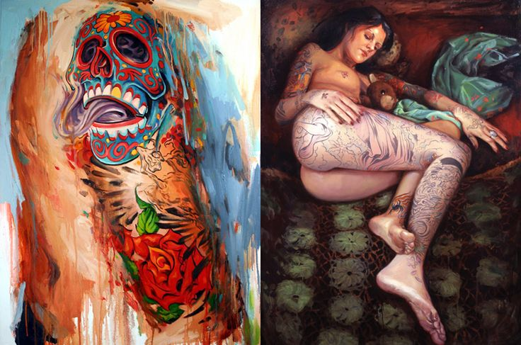 Looks like good Paintings by Shawn Barber