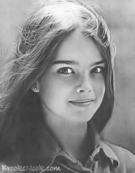 Not strictly a model but her face absolutely slays me... Brooke Shields