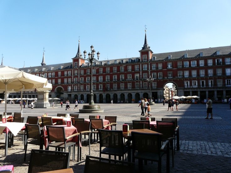 plaza, Madrid