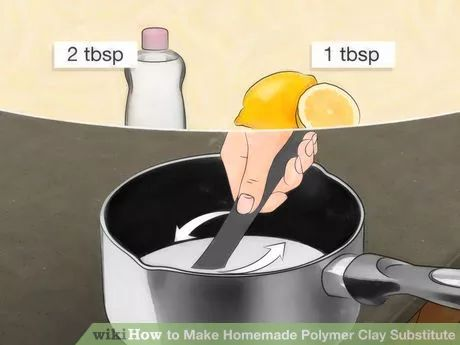 Image titled Make Homemade Polymer Clay Substitute Step 3