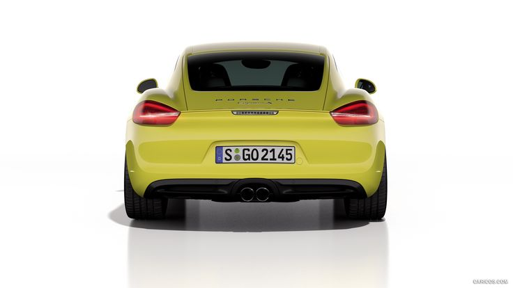 2014 Porsche Cayman S - Rear