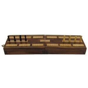 Tableros de juego Cribbage y Clavijas Establecer con almacenamiento: Amazon.es: Juguetes