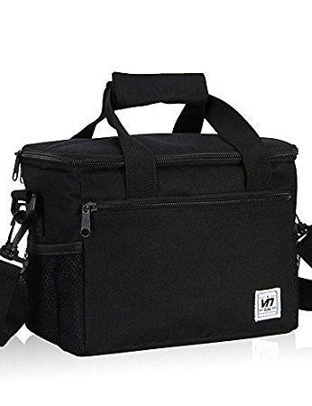 GXS impermeabile/antipolvere impermeabile borsa/borsa da toilette da campeggio e Hiking/spiaggia 0,33l verde/nero poliestere 600d/PVC, Green