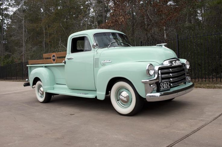 1954 GMC Series 100 1/2-Ton Hydramatic Pickup Truck