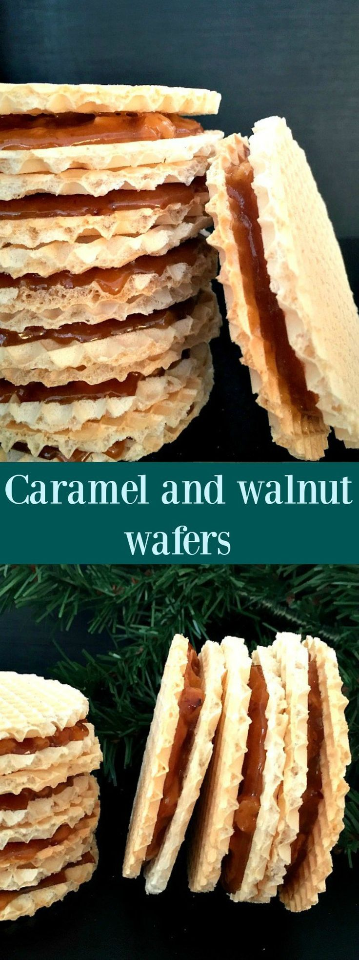 Caramel and walnut wafers, my favourite sweet treat ever since I was a ...