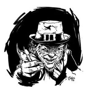 Image result for Horror Coloring Pages Leprechaun