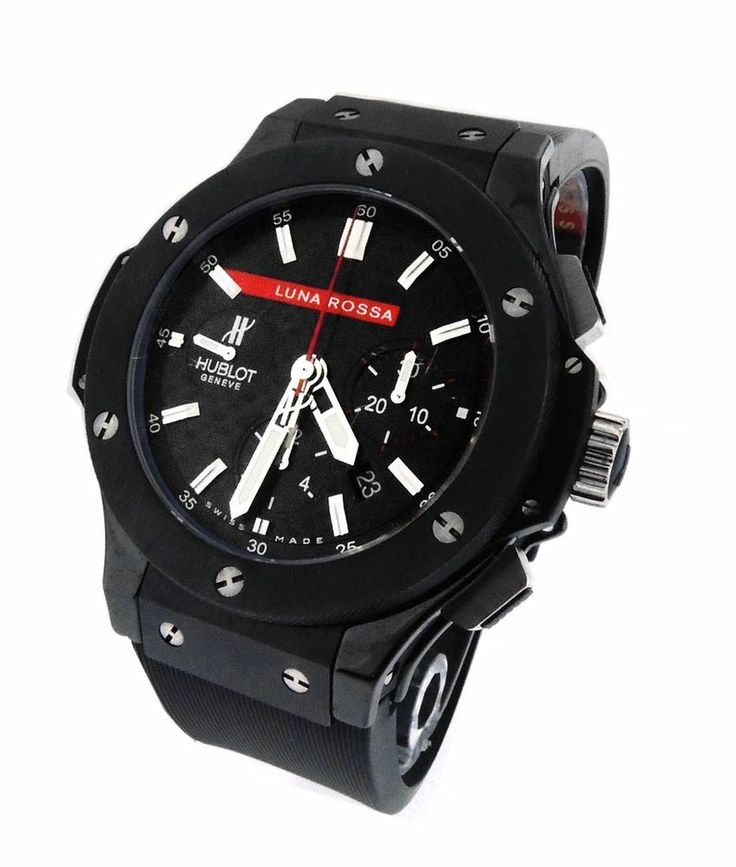 Mens Hublot Big Bang Luna Rossa 301.CM.131.RX.LUN06 Ceramic Carbon Fiber Watch