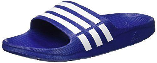 From 14.80:Adidas Duramo Slide Unisex Adults' (beach & Pool Shoes) Blue (true Blue/white/true Blue) 8 Uk | Shopods.com