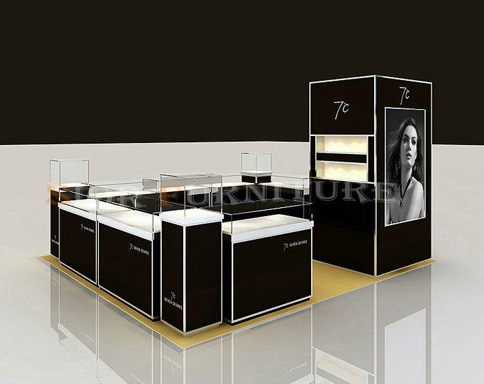 2012 Top sale Modern Jewelry Store Kiosk