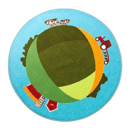 $7.99 land rug, for the little farmer