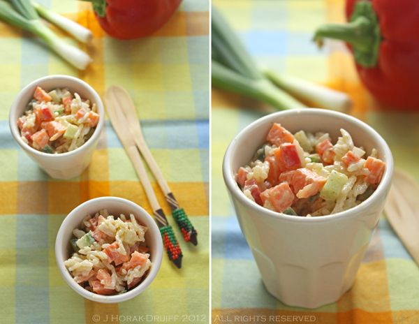 Confetti rice salad - celebrate! - Cooksister | Food, Travel, Photography