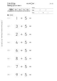 kumon exercises addition - Google Search | Enem, Aulas