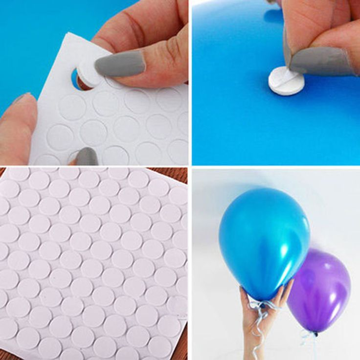 100 points Balloon attachment glue dot attach ball…