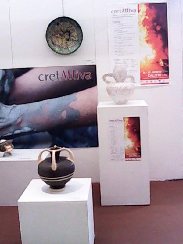 Ceramiche internazionali e nazionali ospiti in ex città della ceramica