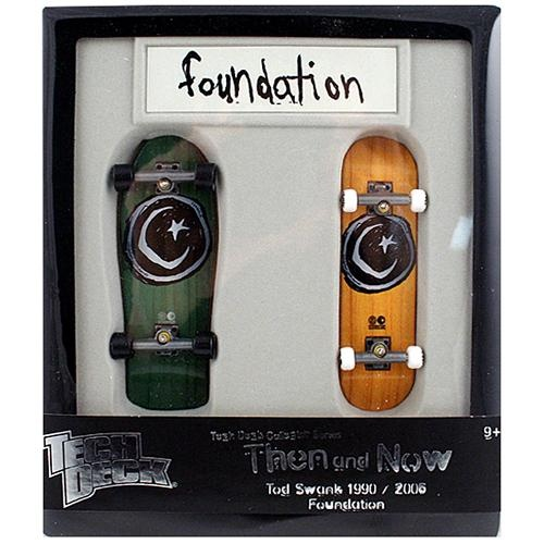 Tech Deck Then and Now Foundation Skateboards. $14.99