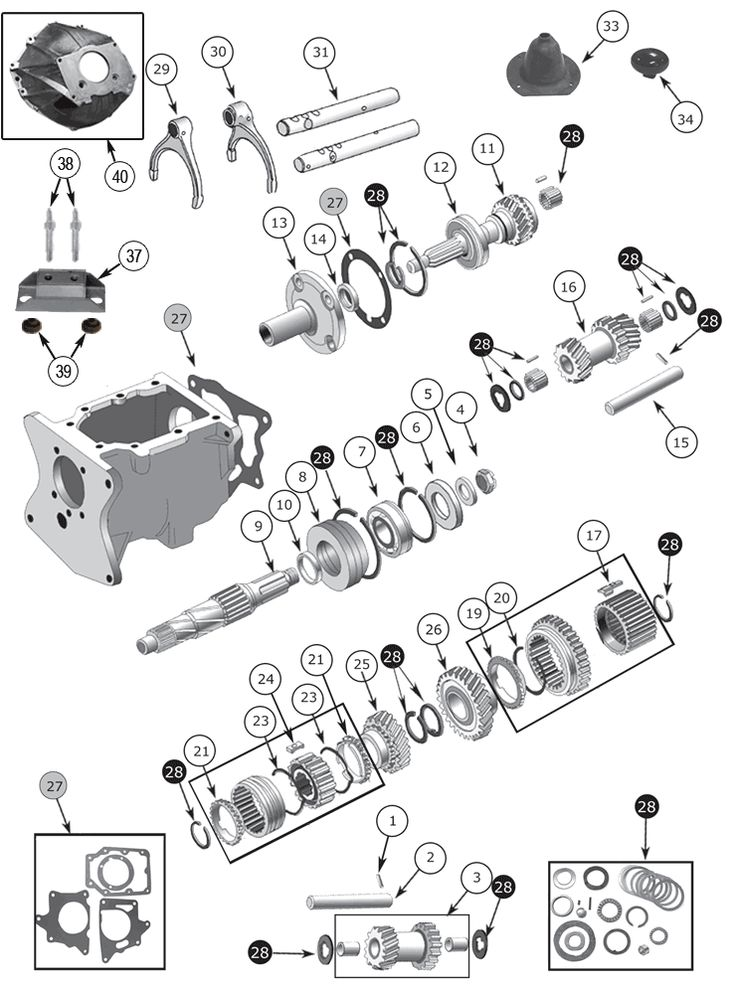 Jeep Transmission Diagram