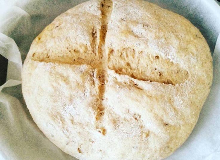 Keten Tohumlu Tam Buğday Ekmeği #linseed #brownbread