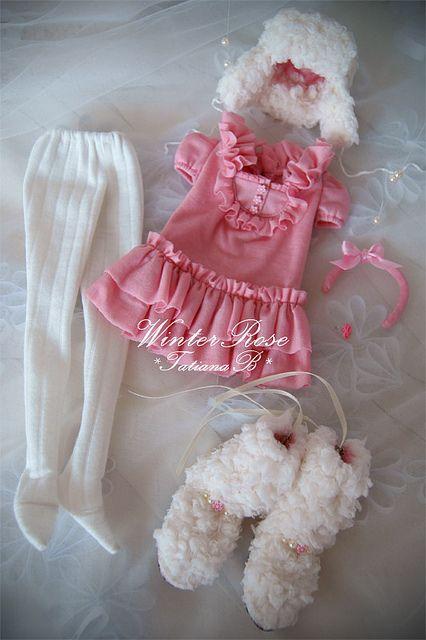"Outfit ""Winter Rose"". Por *TatianaB*"