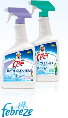 Beau Mr. Clean Disinfecting Bath Cleaner With Febreze Freshness
