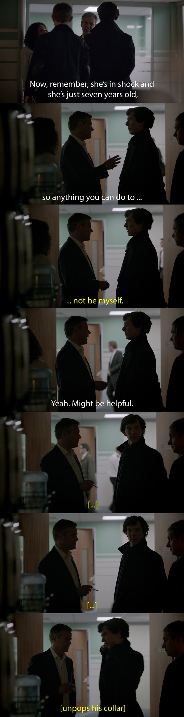 """The """"don't be yourself"""" theme of this episode depressed me more than the Fall."""