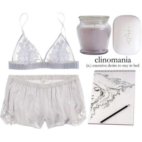clinomania by bluevelvetmoon on Polyvore