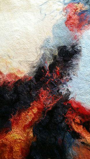 Felting Rae Woolnough Textiles Artist More
