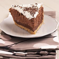 Chocolate Truffle Pie Recipe from Handle The Heat