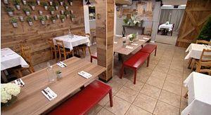 Bella Luna restaurant redesign Easton, PA