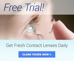 FREE Contact Lenses!