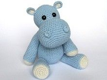 Little Hippo Timi Amigurumi Crochet Pattern