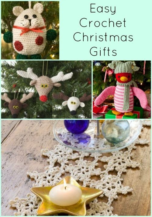 21 Easy Crochet Christmas Gifts | FaveCrafts.com