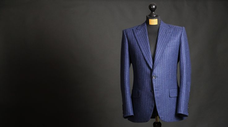 Bespoke Suit that was decorated with the silver medal - Made by Sebastian Hoofs