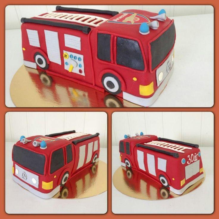 Best 25 Fire Truck Beds Ideas On Pinterest: 25+ Best Ideas About Fire Engine Cake On Pinterest