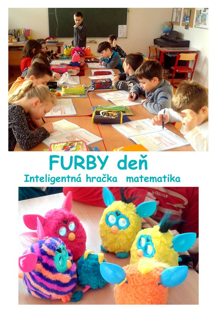 Furby day project kids