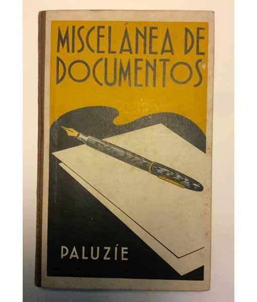 MISCELÁNEA DE DOCUMENTOS Esteban Paluzie. Imprenta Ezevirina y Librería Camí. Barcelona, 1942. Libros escolares antiguos. Cartillas escolares antiguas. #libros #escolares #antiguos #manuales #cartillas #infantiles