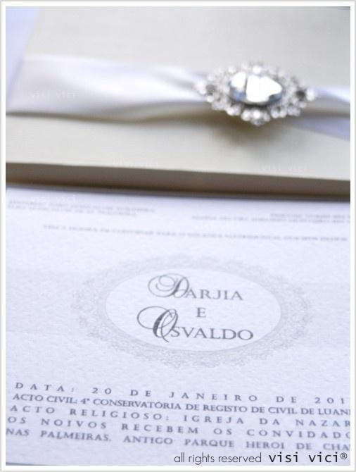 Wedding box invitation | shine