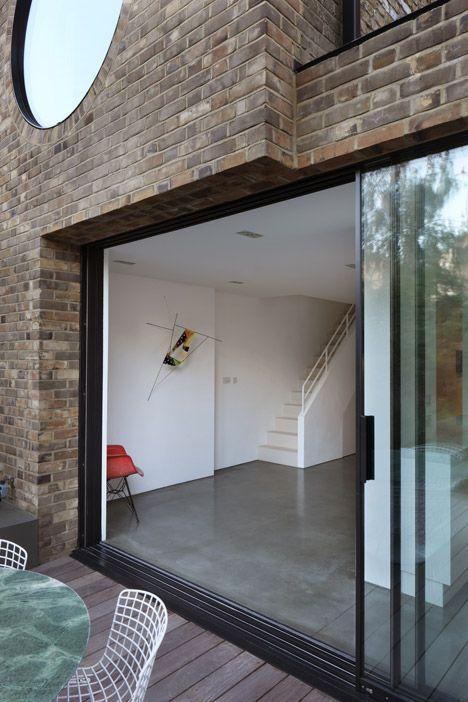 baie vitr e fen tre coulissante am nagement int rieur. Black Bedroom Furniture Sets. Home Design Ideas