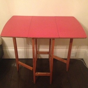 retro dining table with leaf 1000 images about formica drop leaf tables on 7778