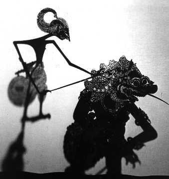 Wayang Kulit Puppet, Indonesia