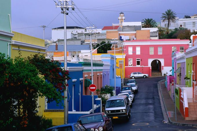What to do with 24 hours in Cape Town. This is Chiappini Street in the Bo-Kaap.