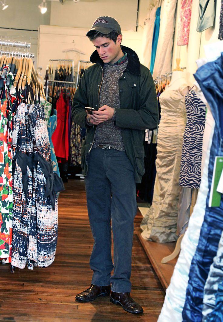 """and this is how boys go dress shopping;"" -Kiel James Patrick"